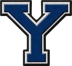 Blue Letters Presentation Alphabets Royal Blue Varsity Letter Y
