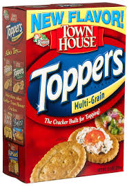 amazon com town house toppers multigrain 13 5 ounce boxes pack amazon com town house toppers multigrain 13 5 ounce boxes pack of 6 townhouse multigrain toppers