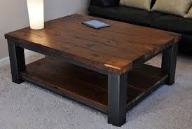 Rustic Coffee Table With Storage | Home For You