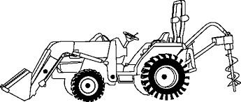 Small Picture Tractor Coloring Pages 2 Coloring Pages To Print