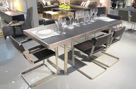 dining tables aster slide glass dining table