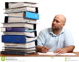 man too much work stock photo image 38780661 man too much work