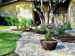 decorative gravel landscaping ideas with and stones garden for you decorating 1