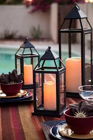 Outdoor Flameless Candles Custom Outdoor Candle Lanterns For Patio Pool Side Outdoor Lanterns With