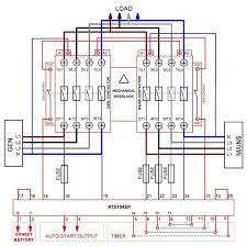 automatic transferred switch ats circuit diagram electrical rh elecengworld1 blo com ats wiring diagram for sel generator ats wiring diagram