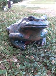 image 0 frog yard decor decorating for fall 2018 outdoor garden statue