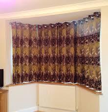 24 diy window valances top endearing wooden bay window curtain pole 1
