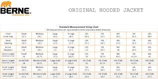 Berne Orignal Hooded Jacket Tall Sizes
