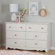 white kids dresser. South Shore Lily Rose 6-Drawer White Wash Dresser Kids R