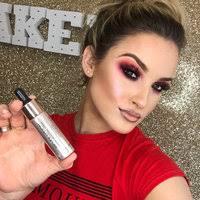 highlight make that highlight pop brighter than the sun or a natural look makeup revolution i heart makeup dragon s heart highlighter