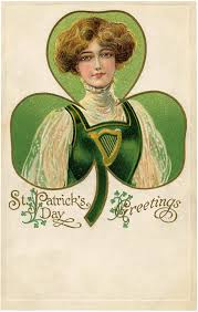 16 St Patricks Day Clip Art Ladies - Updated - The Graphics Fairy