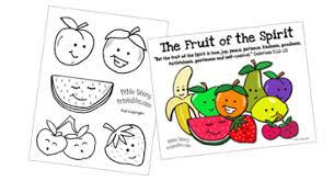 Small Picture Fruit of the Spirit Printables Crafts