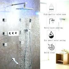 bronze shower system shower systems bronze bronze shower faucet set led rain shower head bath shower bronze shower system