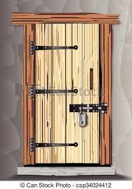 padlocked cote door csp34024412