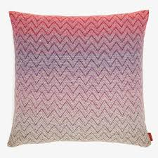 missoni home pink pascal pillow