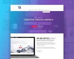 website templates download free designs creative agency website template free psd download download psd