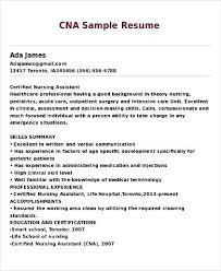 Sample Certified Nursing Assistant Resume Nurse Aide Resume Kadil Carpentersdaughter Co