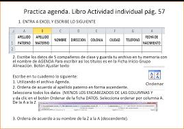 2 2 Introduce Edita Y Ordena Datos Y 2 3 Formato De Datos Cobach