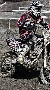 Moto Motocros Jump Sport Black Iphone Wallpaper