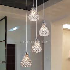 modern bathroom pendant lighting. Modern 4-Light Octagon Bead Bathroom Pendant Lights Lighting R