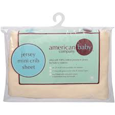 american baby company 100 supreme cotton jersey knit fitted portable mini crib sheet blue com