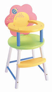 doll high chair set