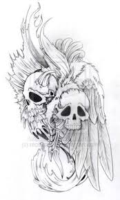 further  together with  besides Demon Tattoos and Designs  Page 50 moreover 37 best Shoulder Skull Tattoos images on Pinterest   Skull tattoos likewise  in addition  in addition Tattoo Custom Tattoo Tattoo Evil Biker Tattoo Demons Tattoo   Evil moreover Demon Tattoos and Designs  Page 130 besides  also Unique Design Devil Demon Tattoo   IDEAS   Pinterest   Demon. on demonic skull tattoo designs