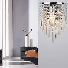 modern crystal chandelier wall light lighting fixture 220v
