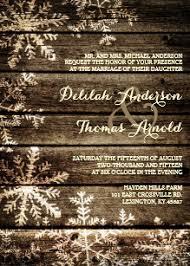 Rustic Winter Wedding Invitations Rustic Winter Wedding Invitations Zazzle