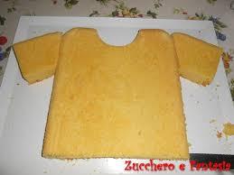 Tutorial: torta a forma di maglia zucchero e fantasiazucchero e