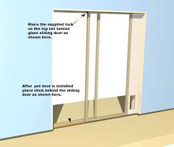 installing a cat flap in a glass door cat flap sliding door insert designs installing a