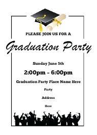 Free Template For Graduation Invitation Graduation Invitation Samples Graduation Announcements Photoshop