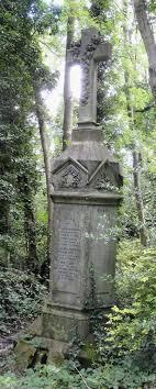Monument for Ida Burton Ravenscroft (d. 1867, 3 years), Nunhead Cemetery