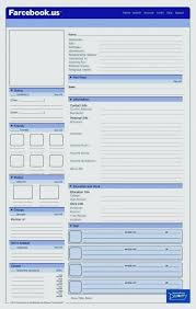 blank facebook timeline page.  Facebook Editable Template For Students Blank Facebook Page Word  Word On Timeline I