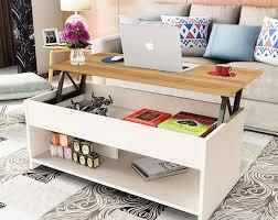 lift top multi function wood modern