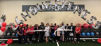photo courtesy of 24 hour fitness general manager kelsey barroga pictured here next to mayor rich tran along with vice mayor marsha grilli and