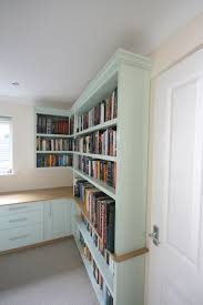 painted office furniture. Back To Bespoke Hand Painted Home Office / Library With Oak Desk, Bookshelves, Cupboards Furniture E