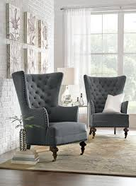 Accent Wingback Chairs Uniquely Shaped Chairs Are A Perfect Home Accent Homedecorators