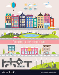 How To Design Your Own Map Different City Elements For Creating Your Own Map