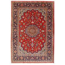 14949 isfahan persian rug very fine 5 x 3 4 ft