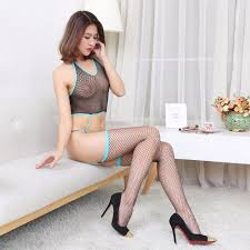 Hot Sideband Sexy Fishnet Female Porn Wear Slutty Sex Clothes.
