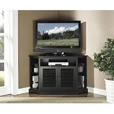 com we furniture 52 wood corner tv stand console black com we furniture 52 wood corner tv stand console black kitchen dining