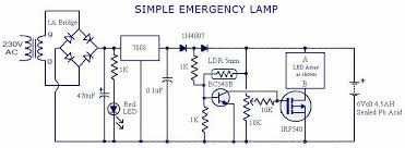 circuit diagram of emergency light the wiring diagram simple emergency light filling diagram circuit diagram