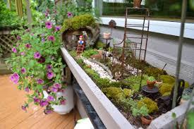Fairy Garden Windowbox