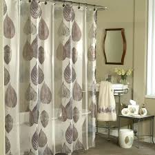 semi cloth shower curtain with leaves pattern small bathroom sink with metal base a decorative cost