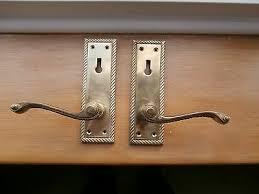 b q polished scroll door handles 6