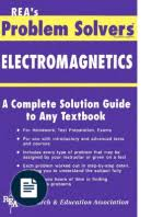 problem solvers the staff of rea statistics problem solver  m fogel the electromagnetics problem solver rea 1995