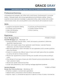 Quicken Loans Senior Mortgage Banker Resume Sample - Detroit ...