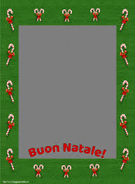 Cartoline personalizzate di Natale - Buon Natale! - Cornice foto di Natale  - messaggiauguricartoline.com