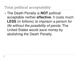 khadija jones death penalty thesis presentation 32 total political acceptabilityiuml129frac12 the death penalty